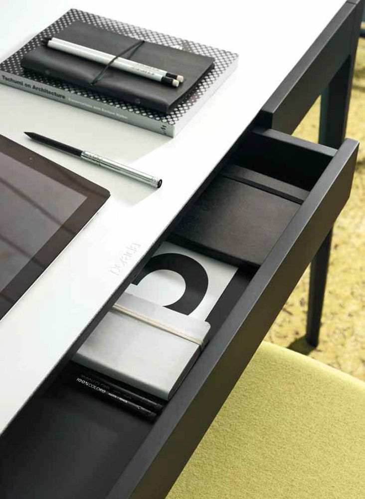 For Luxury Italian Brand Porada The Saffo Cuoio Desk Is An Extremely Functional Piece Of Contemporary Home Office Furniture That Will Surely Make