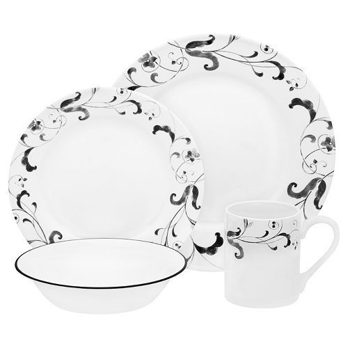 Corelle Impressions Faenza 16 Pc Dinnerware Set Dinnerware Dinnerware Sets Casual Dinnerware