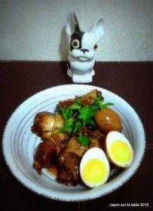 Mijoté au poulet et œuf #cuisine #cuisinejaponaise #japon