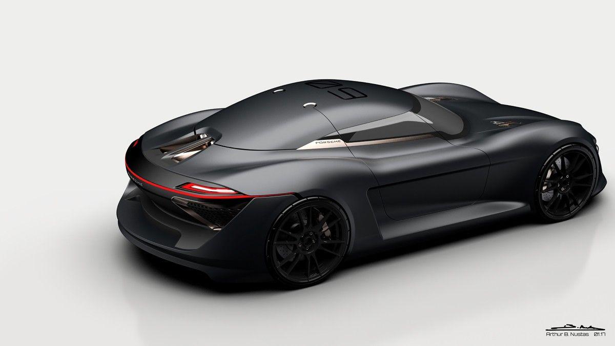 Porsche 939 Supercar Concept The Future Of Porsche Super Cars Super Luxury Cars Futuristic Cars