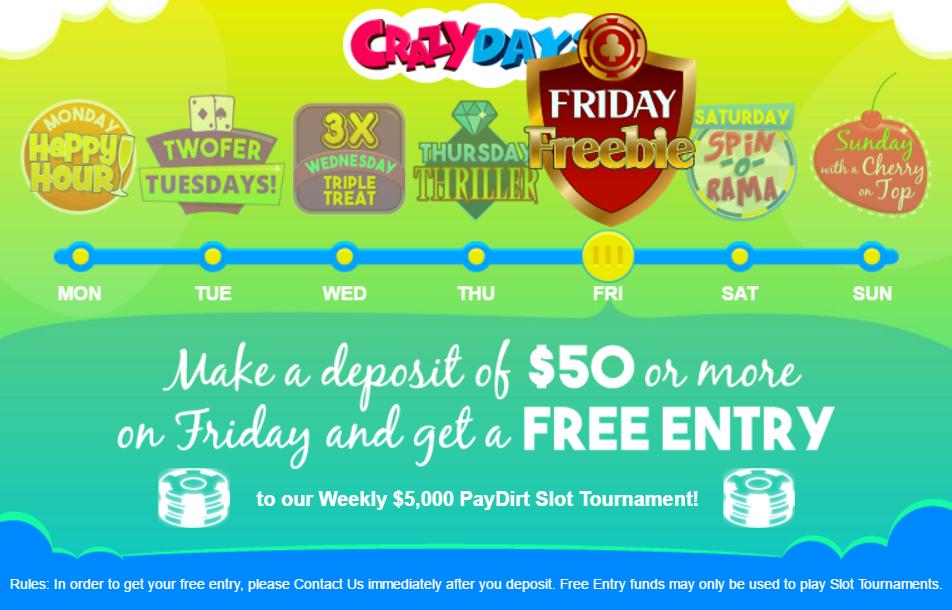 Crazy Casino Bonus
