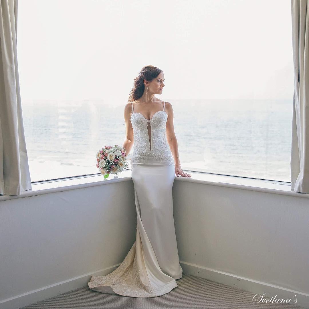Wedding dress for Anna ������ By @svetlana_martynova_14  Stunning image by @jennycuerel �� #svetlanasdressmaking #goldcoastwedding #goldcoastweddings #goldcoast #realbride #bride #bridal #bridestory #brides #bridestyle #bridalgown #wedding #weddings #weddingideas #weddingdress #weddingdresses #weddingphoto #weddingphotography #weddingday #justmarried #ido #instabride #instabridal #instawedding #instaweddings #lacedress #whitedress #handmade #stunning #weddinggown…