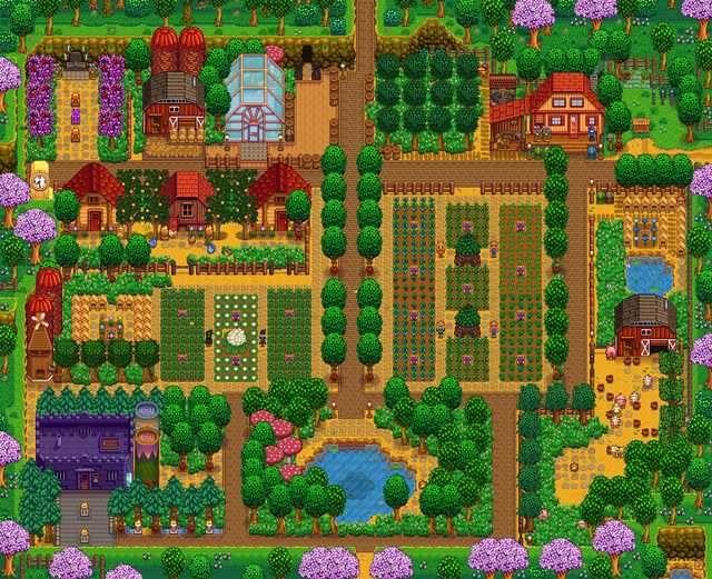 Sidewinder Farm Gallery Below For R Stardewvalley Stardew Valley Farms Stardew Valley Stardew Valley Layout