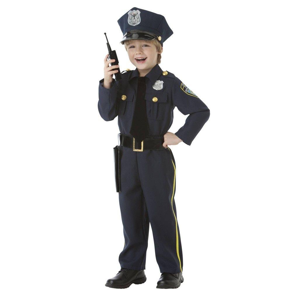 Toddler Police Officer Halloween Costume 2t Police Officer Halloween Costume Police Costume Police Officer Costume