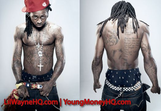 Lil Wayne Has 60 Tattoos On His Body That Represent Either People That He Has Had In His Life Or Certain Symbols Th Lil Wayne Rapper Lil Wayne Christina Milian