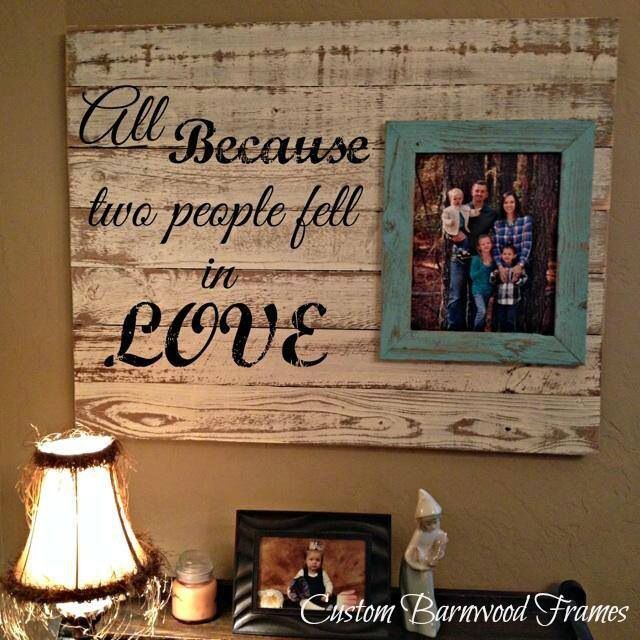 All because two people fell in love | Home Sweet Home | Pinterest ...