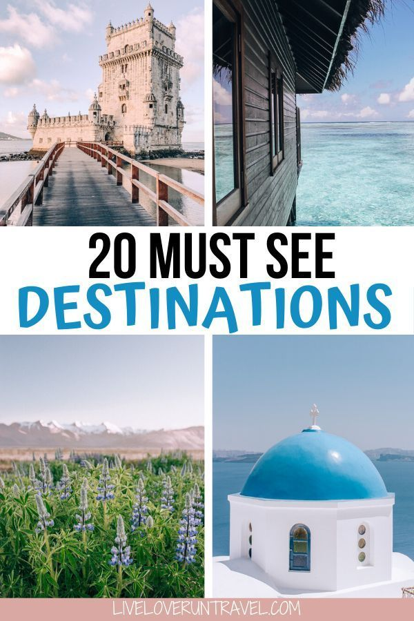 20 Places You Need on Your Travel Bucket List in 2020