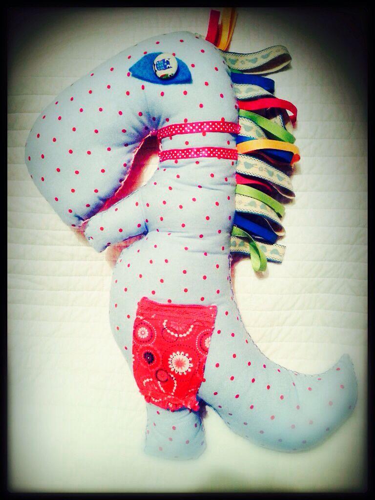 Handmade Dino toy by Bronwyn at RubyRua Interiors.. Contact us at bronwynrcb@gmail.com