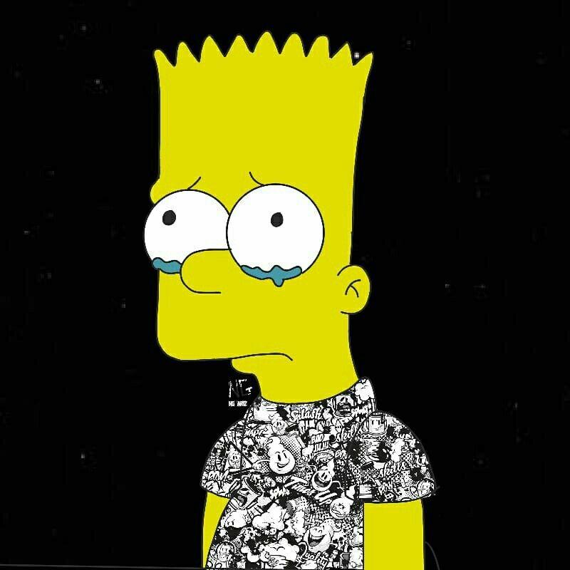 Fondos De Pantalla Tumblr Sad De Bart Simpson