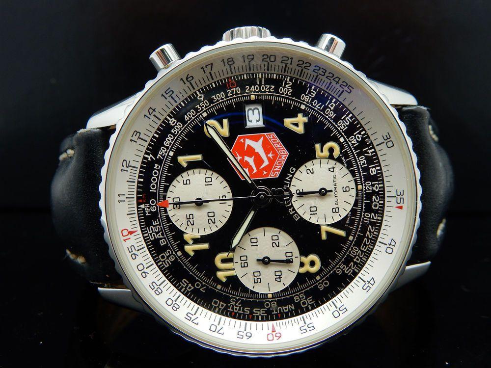 Breitling Navitimer Snowbirds Navitimer II Limited Edition Mens Watch A130200 #Breitling #PilotAviator