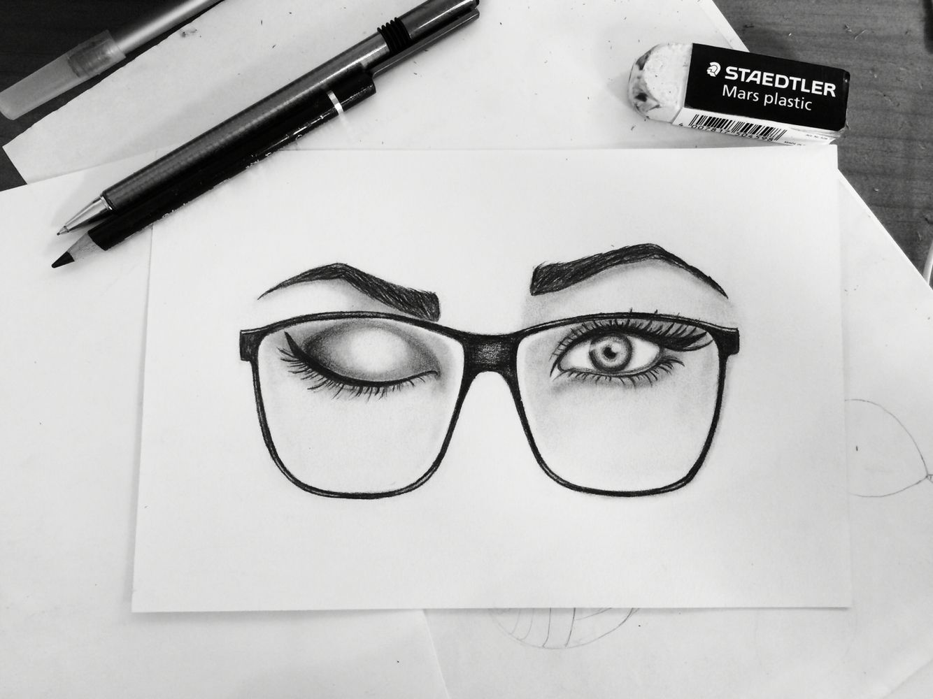 Draw eye glasses girl drawings pinterest draw eyes and draw draw eye glasses girl ccuart Gallery