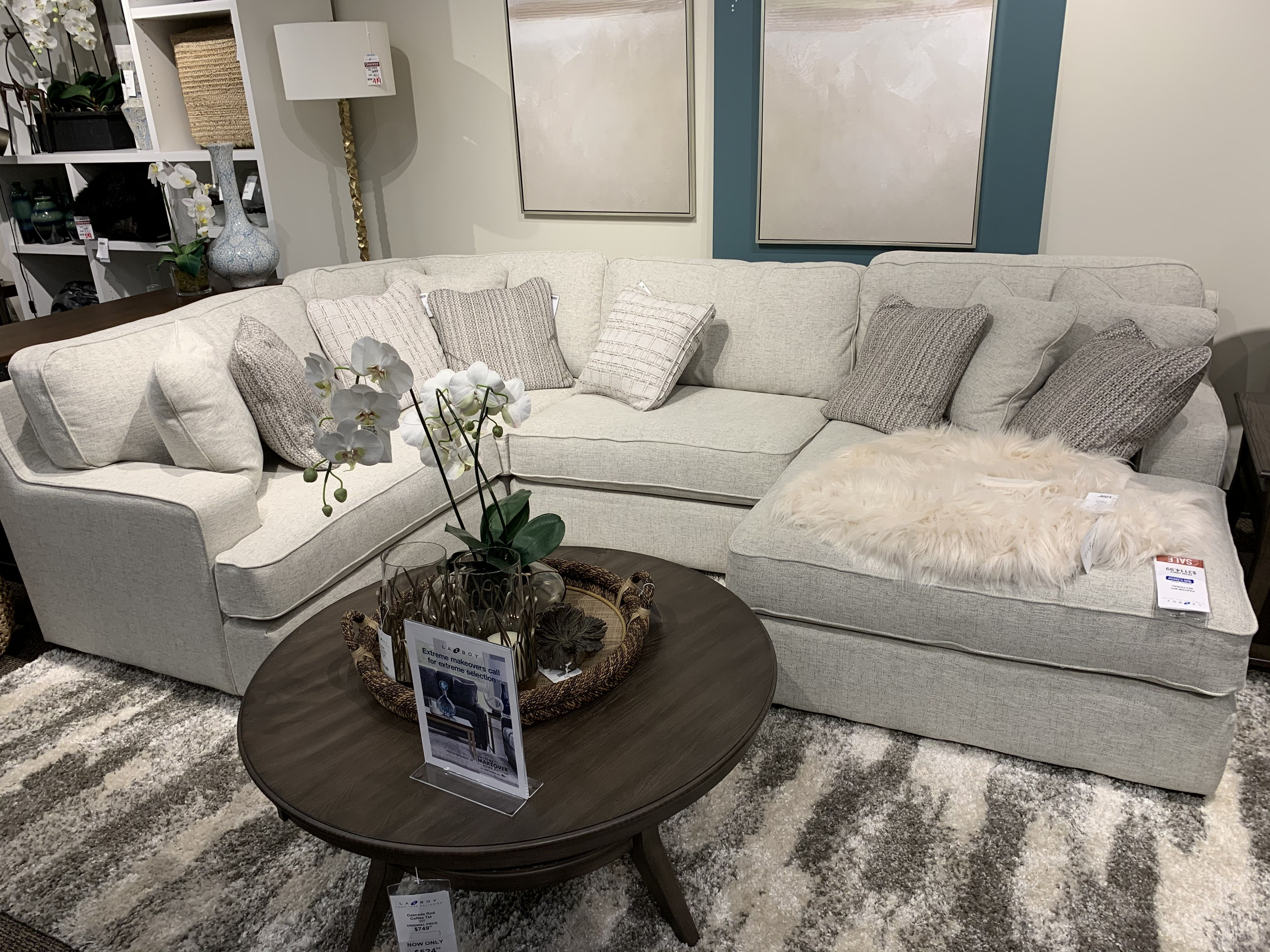 Lazy Boy Paxton Sectional Living Room Sofa Design Couches Living Room Living Room Sofa [ 3024 x 4032 Pixel ]