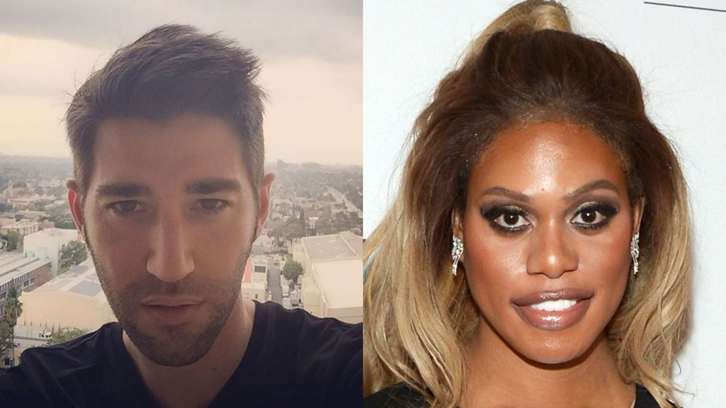 Laverne Cox and Jono Freedrix | entertainment | Pinterest | Regina ...