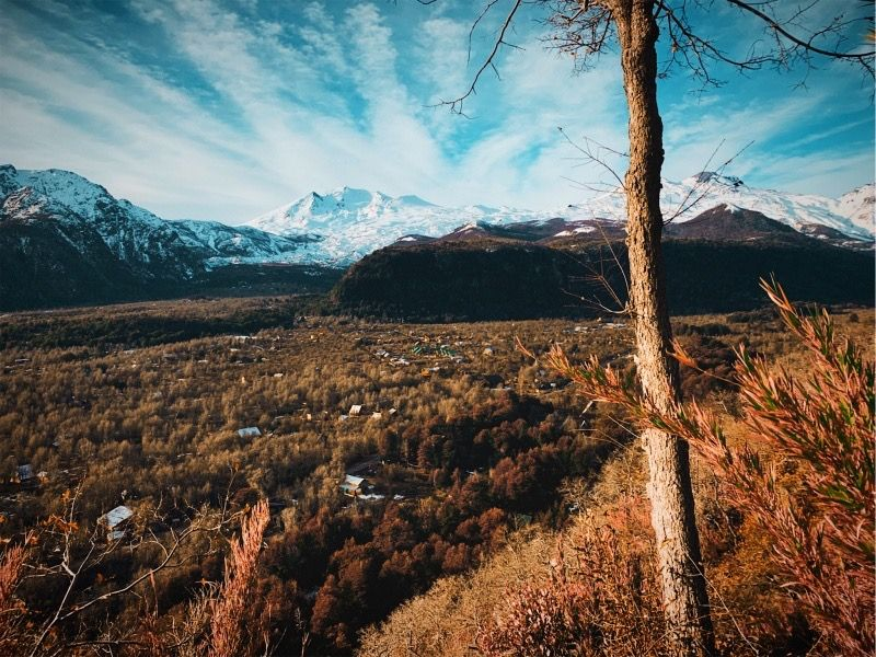 Winter in chillan #chile #view #mountains