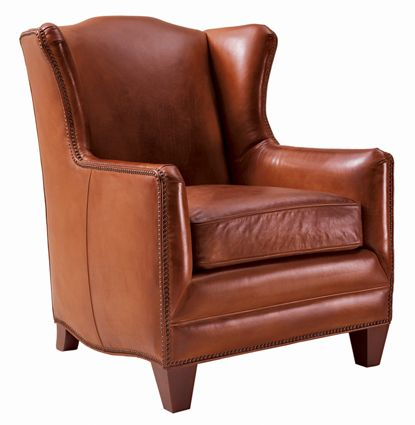 Marvelous Henredon Leather Chair @Henredon Furniture
