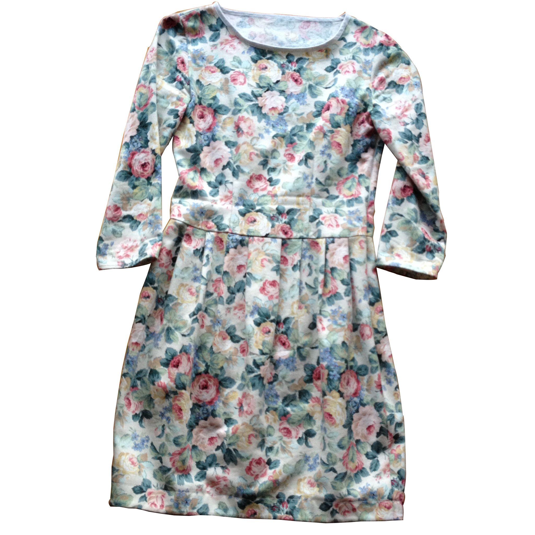 Kleid Tulpe geblümt