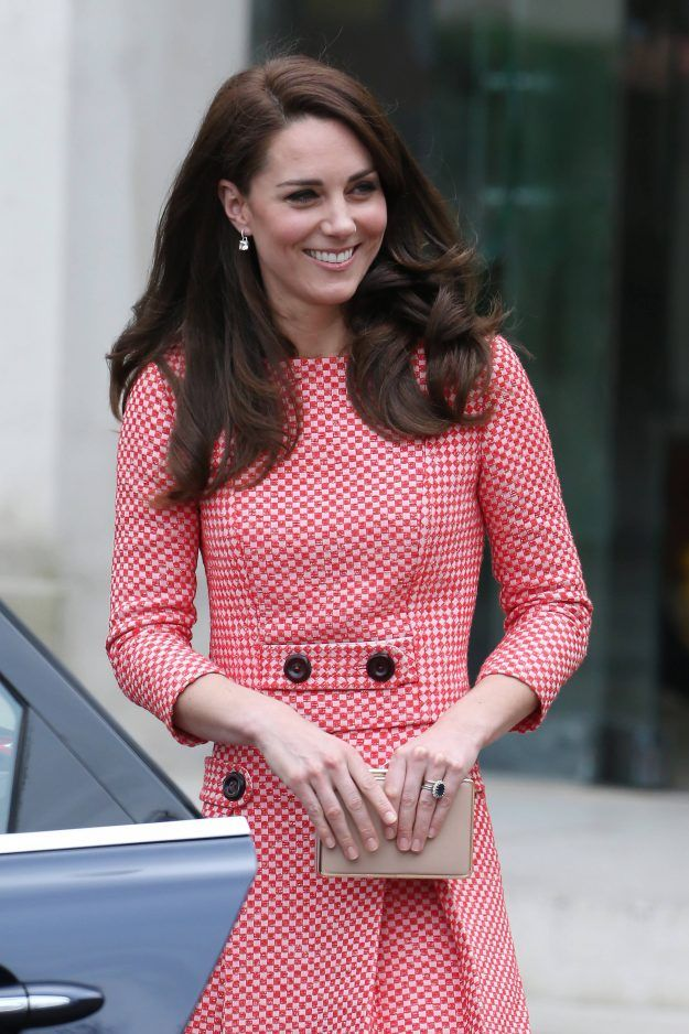 Kate Middleton rewore a gingham suit to talk about