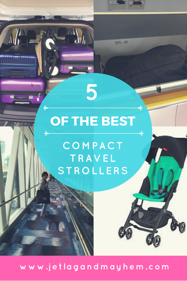 Top 5 Compact, Lightweight Travel Strollers Travel