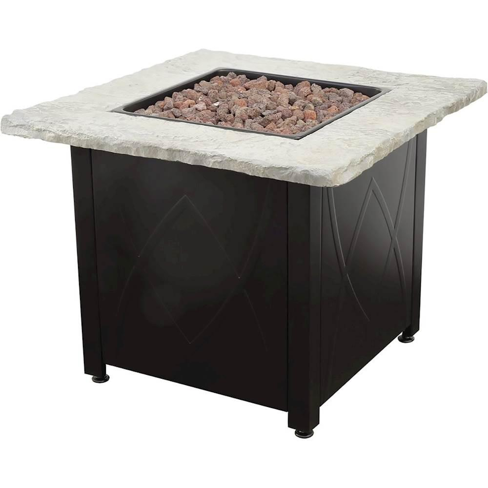 Endless Summer 30 In Propane Stainless Steel Fire Pit Table