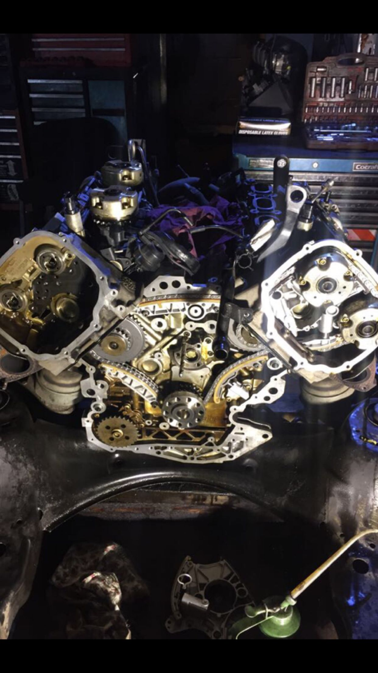 audi 3.2 v6 timing chain replacement