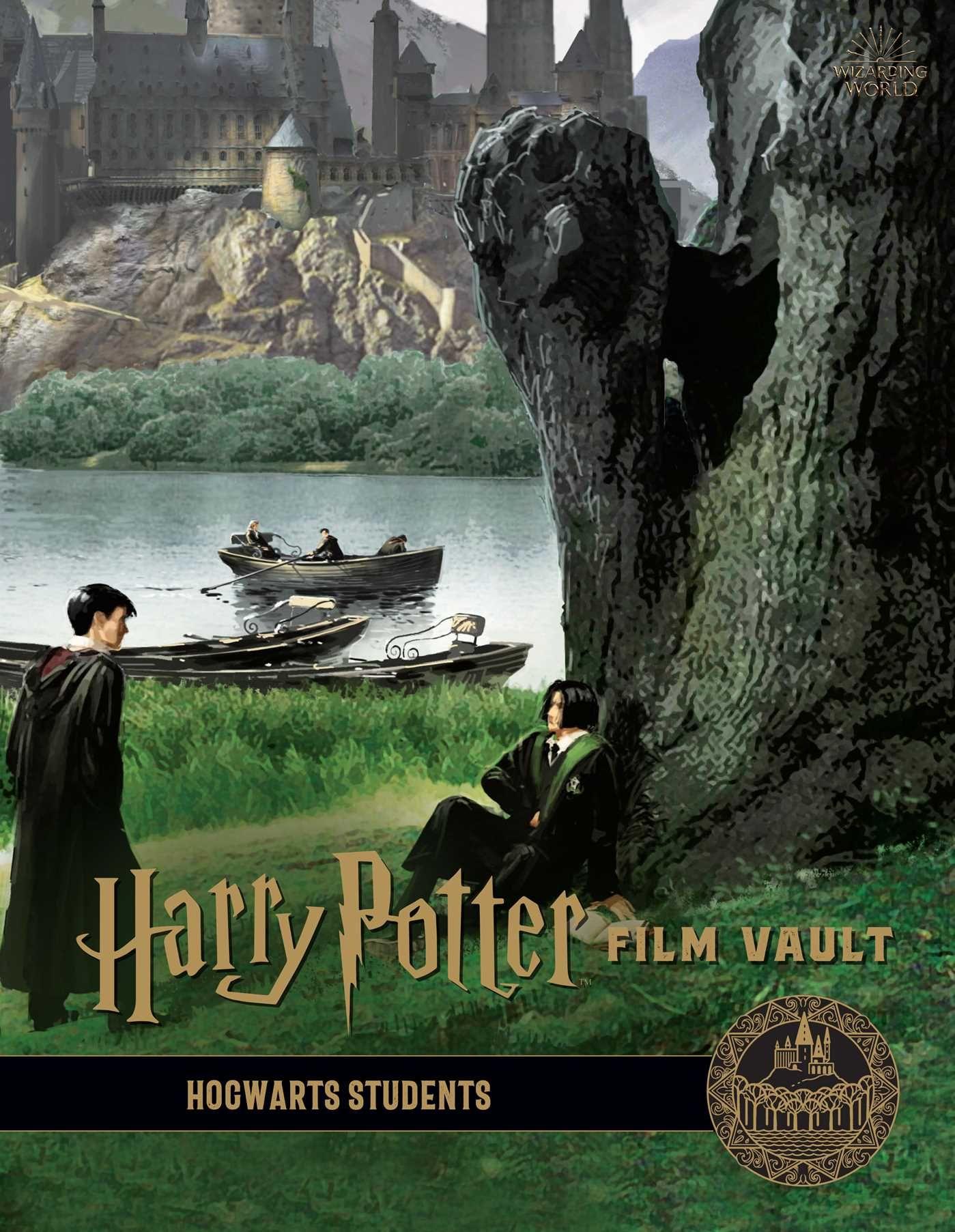 Harry Potter Film Vault Volume 4 Hogwarts Students Hardcover Walmart Com Harry Potter Film Hogwarts Books A Million