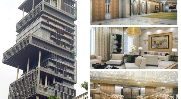 10 Crazy Facts About Mukesh Ambani S Home Antilia Expensive