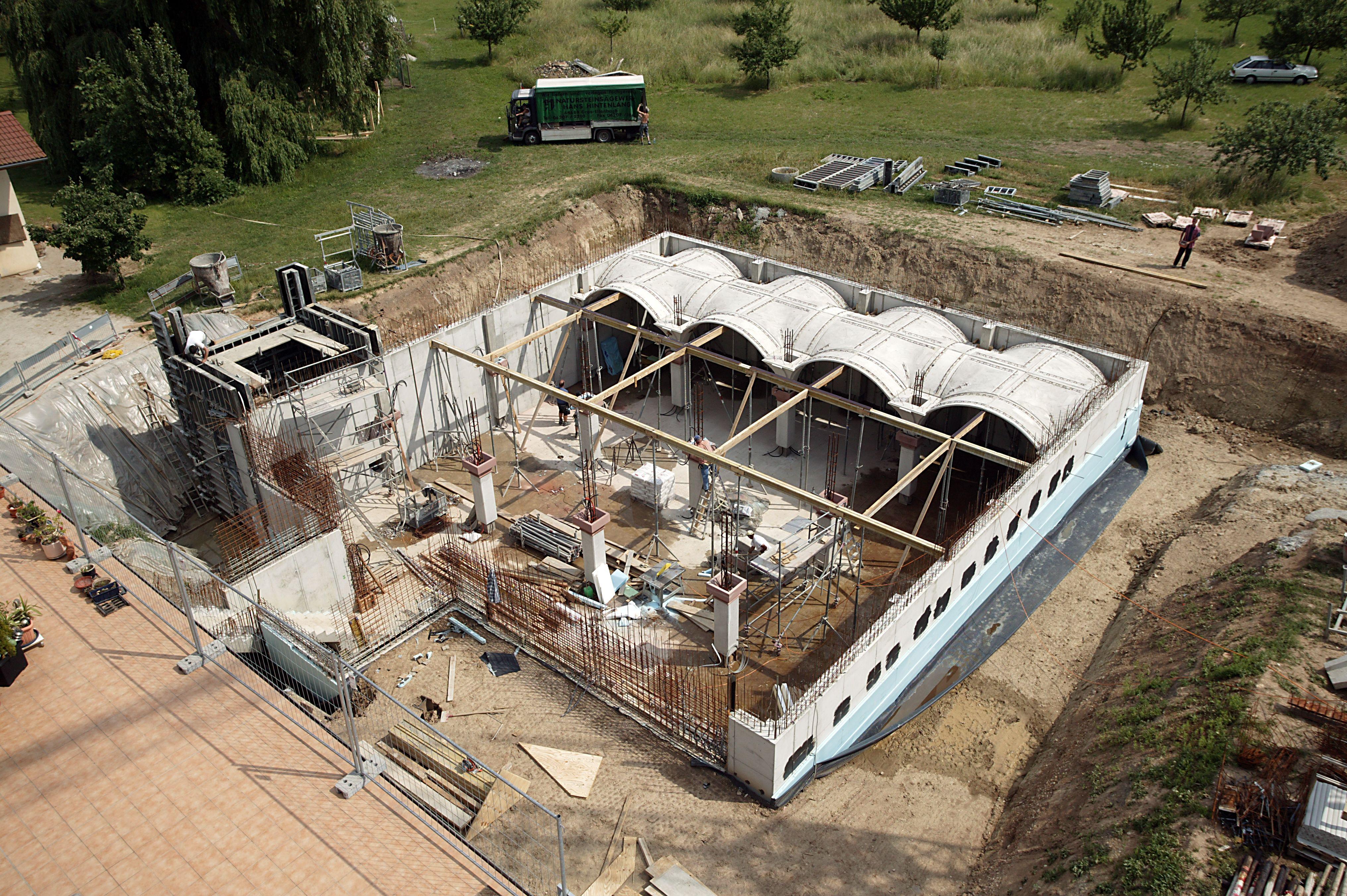 Gewolbekeller Oder Weinkeller Bauen Mit Beton Fertigteilen Gewolbe