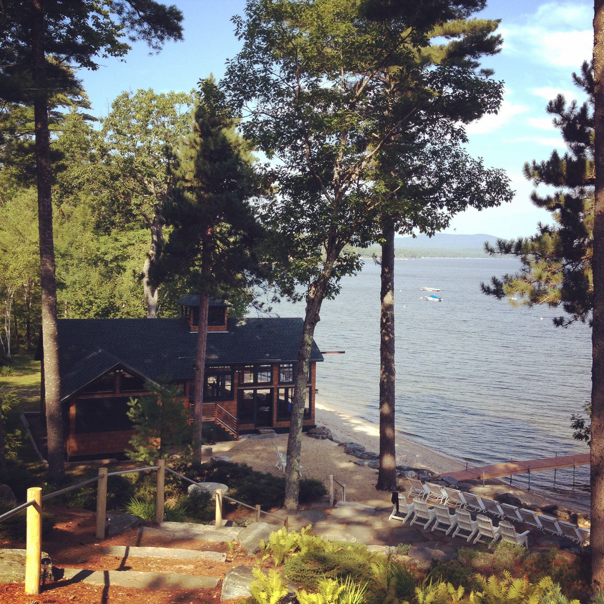 Boat House Sunningdale Lodge Sebago Lake Maine Lodges Wedding Venues