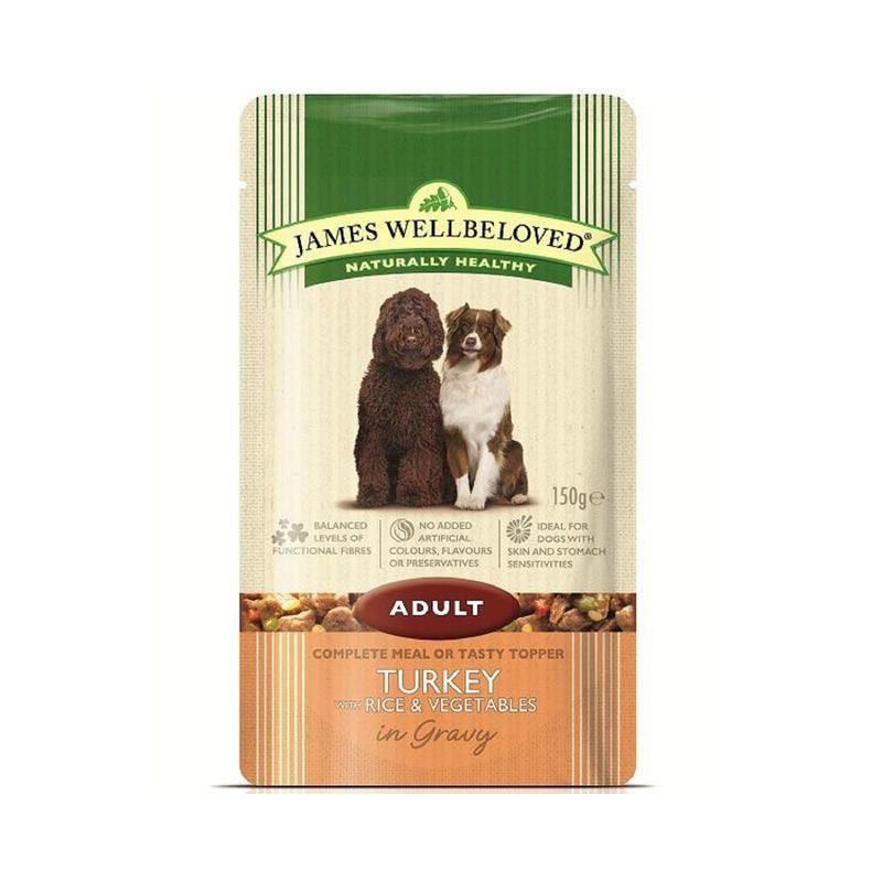 James Wellbeloved Senior Dog Pouches Turkey Dog Food Recipes