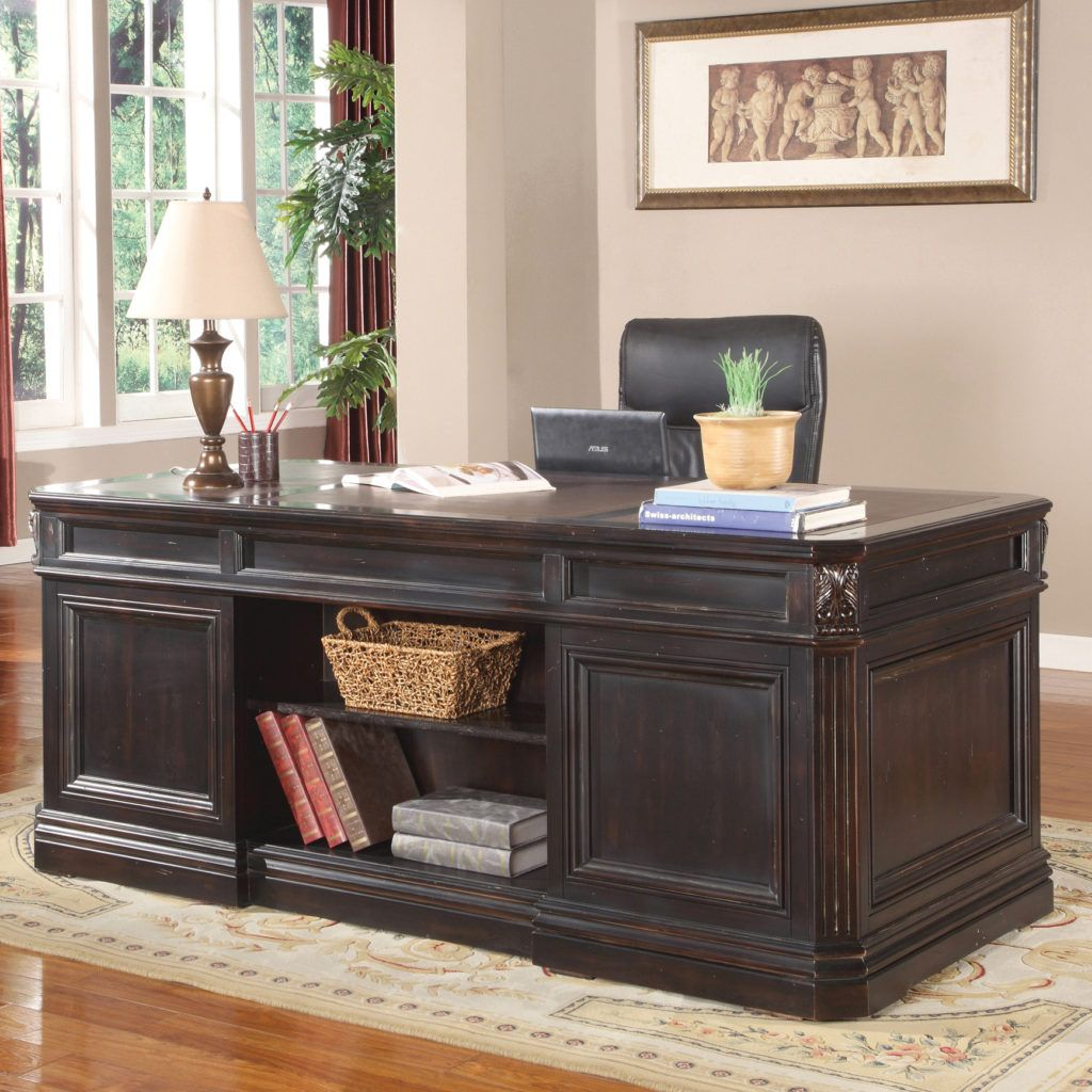 parker house grand manor palazzo executive desk in 2019