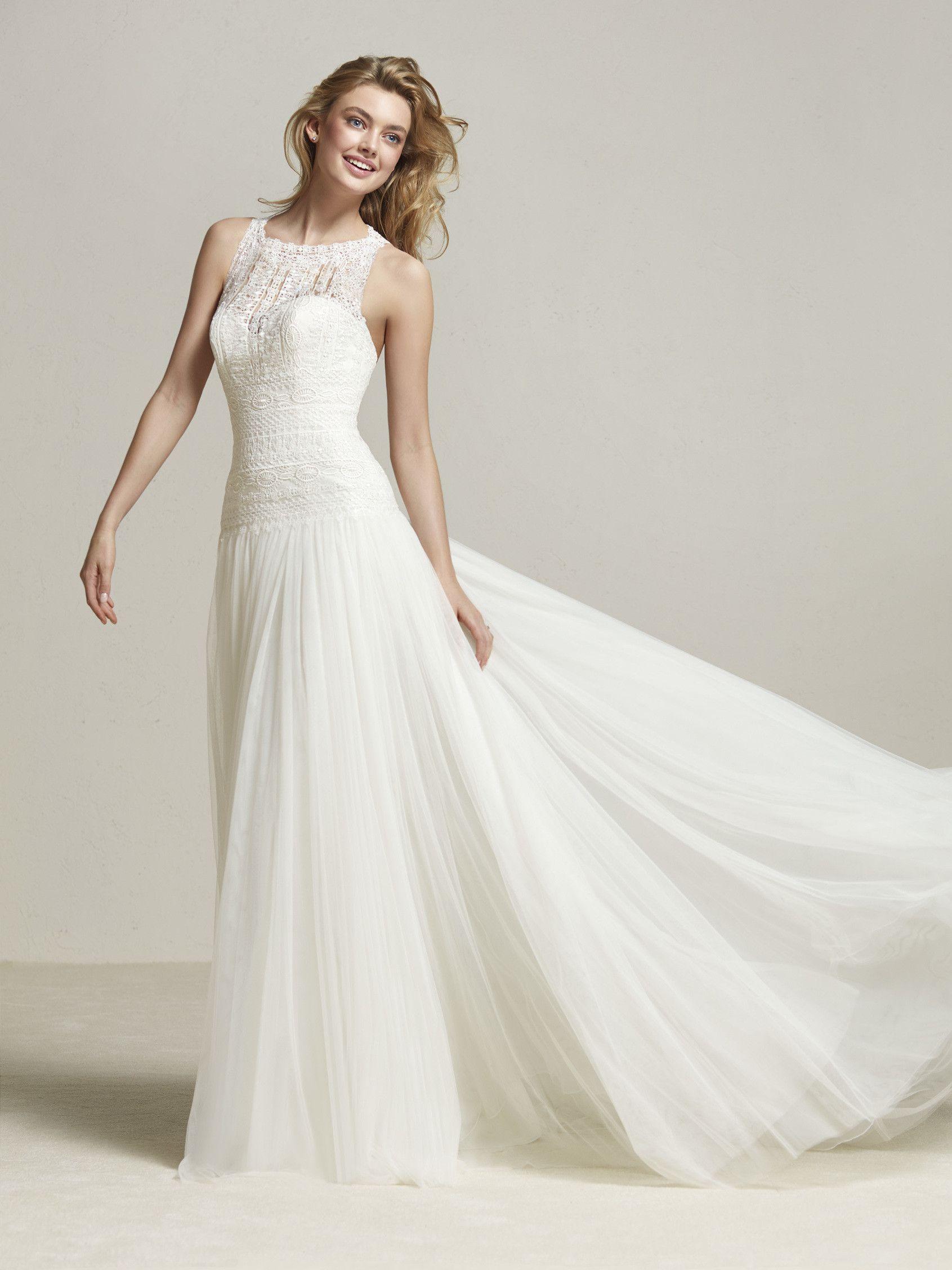 Vestido de novia estilo romántico pretty clothes in