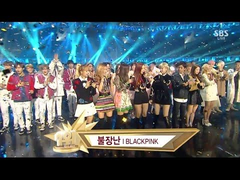 BLACKPINK - '불장난 (PLAYING WITH FIRE)' 1204 SBS Inkigayo : NO.1 OF THE WEEK - YouTube Music
