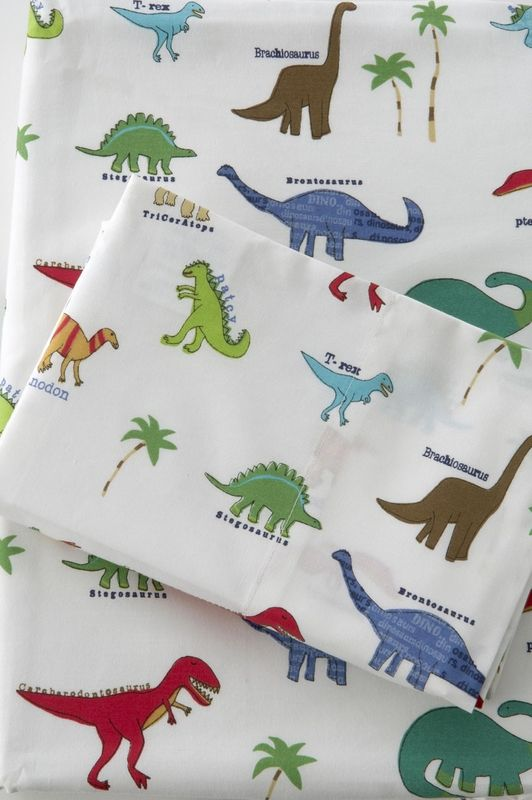 cute dinosaur bed sheets for a little boy | decor and more