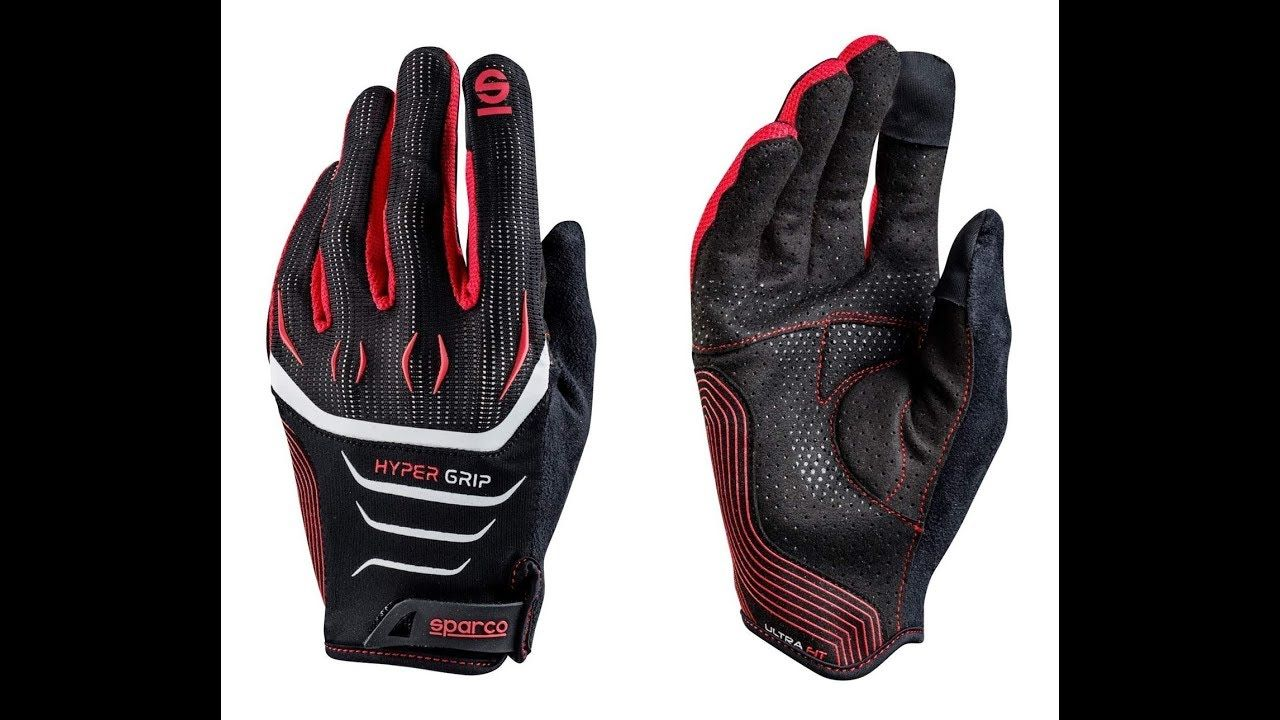 Sparco Hyper Grip Glove Review Grip gloves