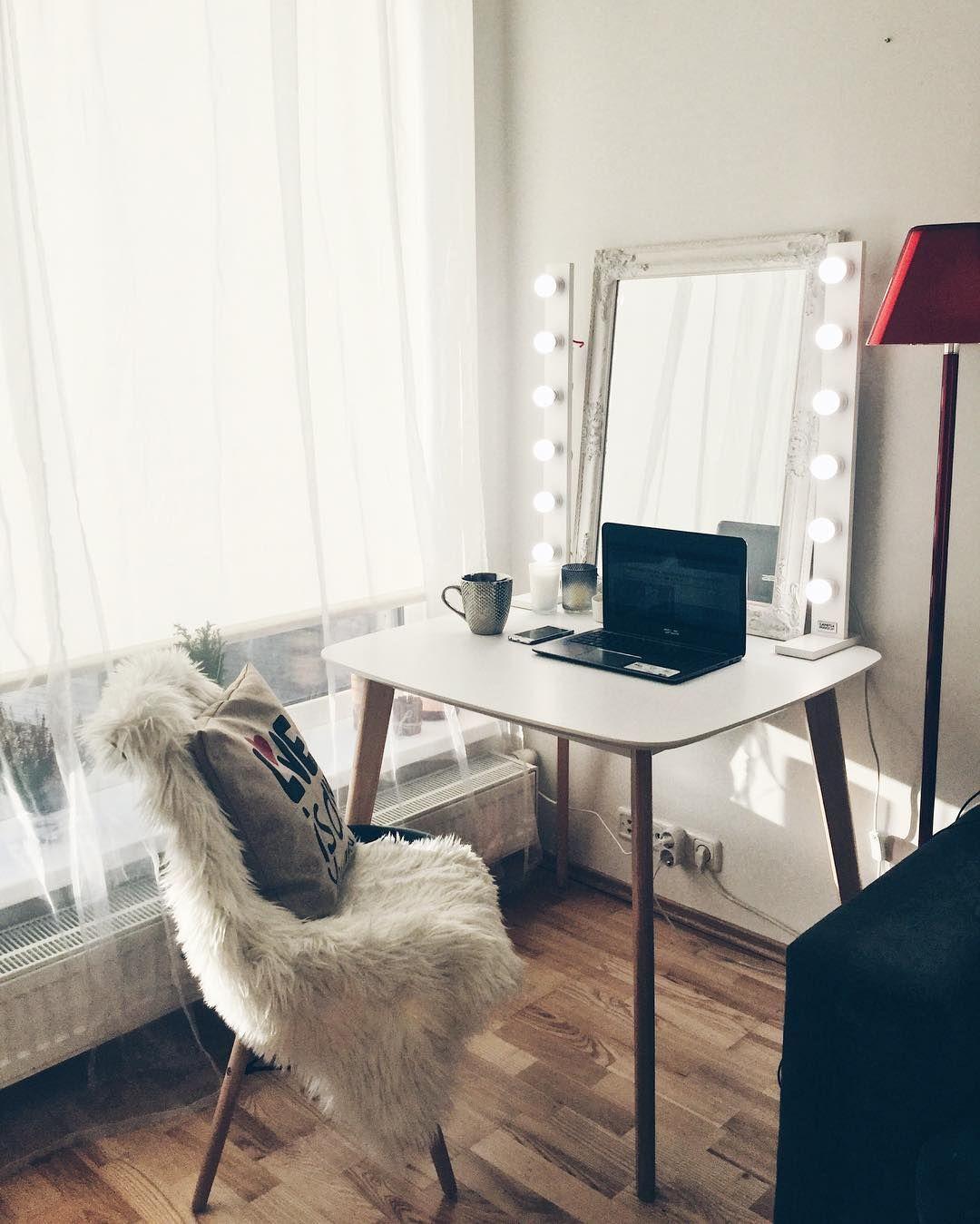 Lamp Fur Make Up Artist Studio Zimmer Madchen Led Lampe Schminktisch Ikea