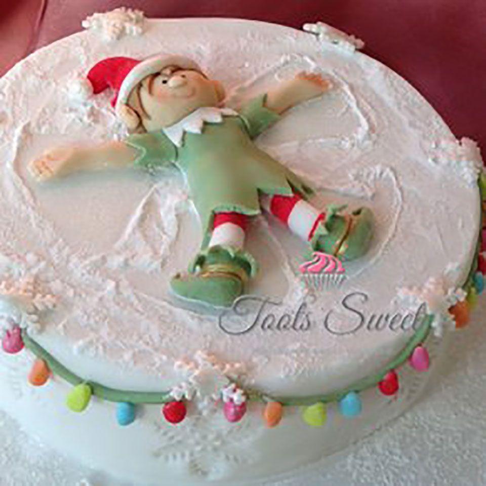 Snow Angel Cake Christmas Cake Christmas Cake Decorations