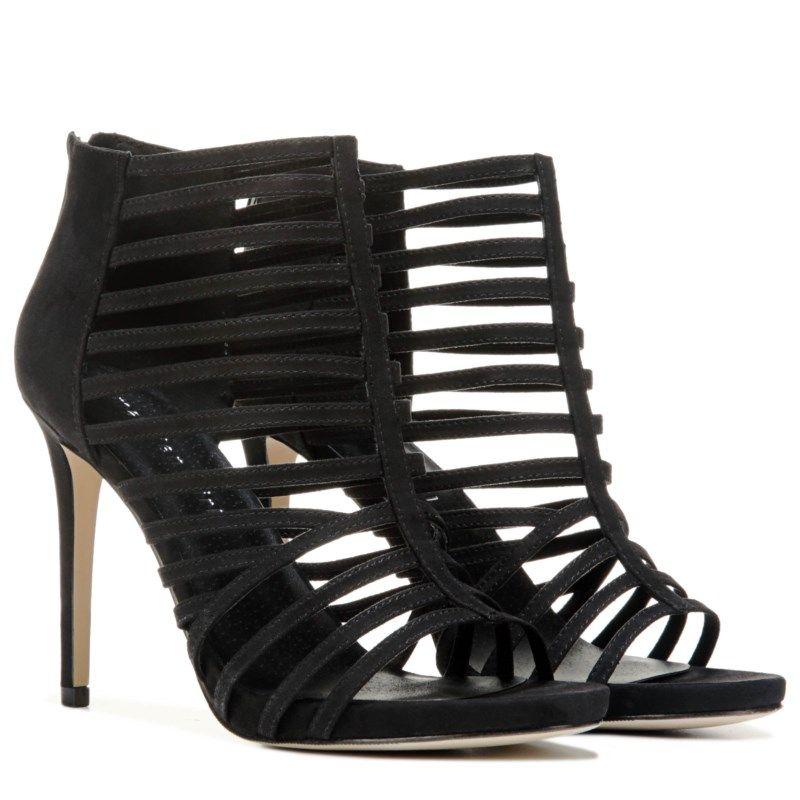6a8c1980b33 Madden Girl Women s Lexx Caged Dress Sandals (Black)