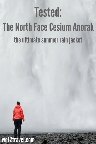 Tested and reviewed: the North Face Cesium Anorak - the ultimate summer rain jacket, perfect for outdoor activities and super lightweight. Check our blog to see how we liked it!