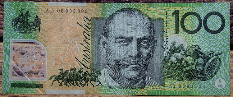 Australian One Hundred Dollar Banknote Was First Issued In 1984 As A Paper Note 100 Australian Dollars Owner David Peterson Adollariswhatineed Australiaday