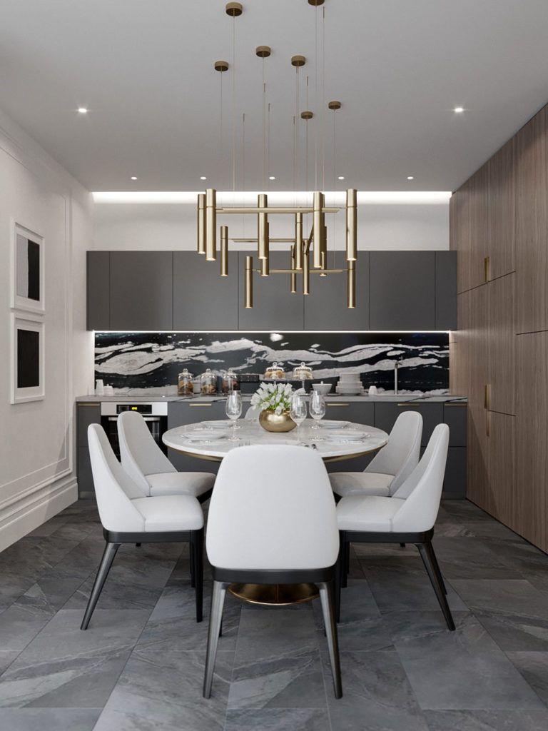 A Kiev Apartment Gets a Modern Interior
