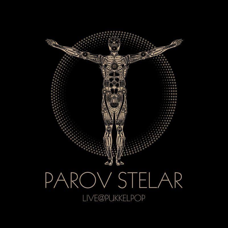 Parov Stelar Live Pukkelpop Album Cover Design