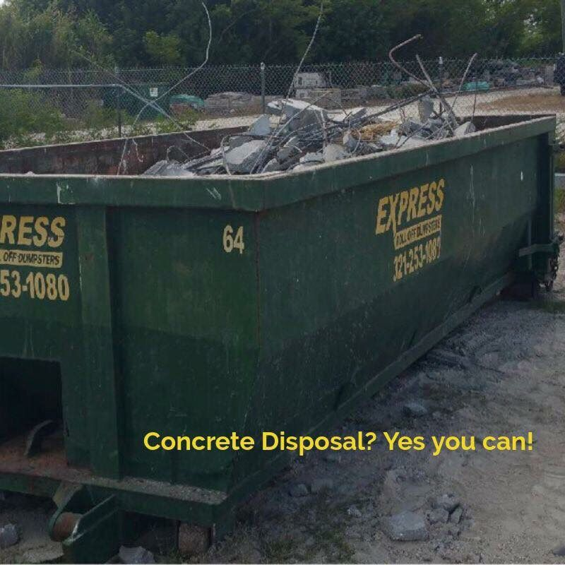 Brick Paver Company Roll Off Dumpster Rental In Brevard Fl Roll Off Dumpster Dumpster Rental Dumpster