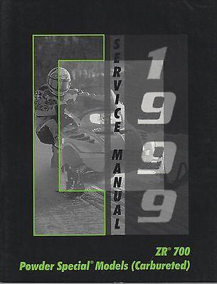 manuals 26351 1999 arctic cat snowmobile zr 700 powder special rh pinterest com arctic cat zr 700 workshop manual 2000 Arctic Cat ZL 550 Millenium Edition
