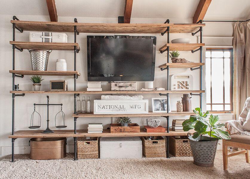 Farmhouse Living Room Refresh With Paint Farm House Living Room
