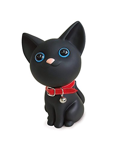 Cute Cat Piggy Bank, Black Cat Bank Toy Coin Bank