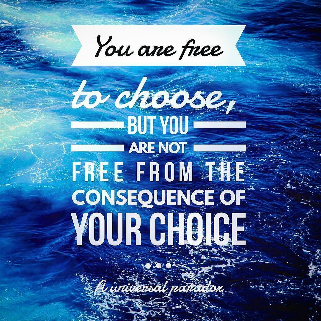 Pause before you make choices. Know the consequences of those choices. Enjoy the ride.   #zenmoment #zenfrequency #quotes #quote #love #life #quoteoftheday #truth #inspiration #motivation #instaquotes #instaquote #yoga #yogi #yogalove #balance #meditation #strength #zen #peace #peaceful #happy