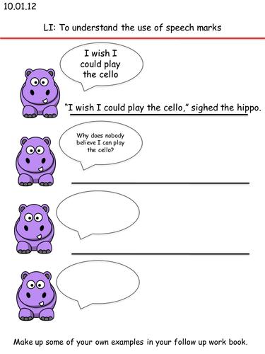 hippo speech activity pptx figurative language pinterest