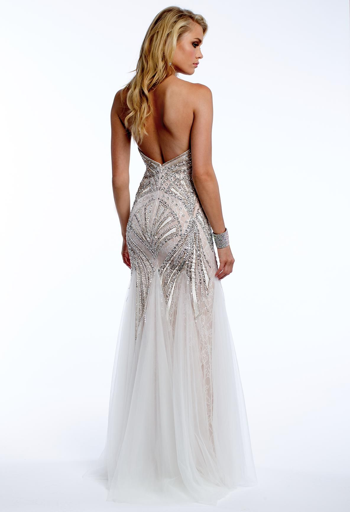 Beaded Deco Prom Dress #camillelavie #CLVprom | PROM DRESSES | Pinterest