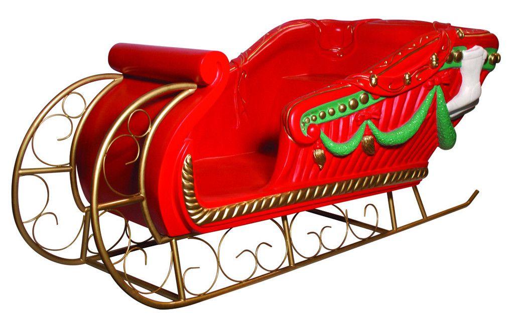 santa s sleigh display prop christmas cheer ho ho ho pinterest
