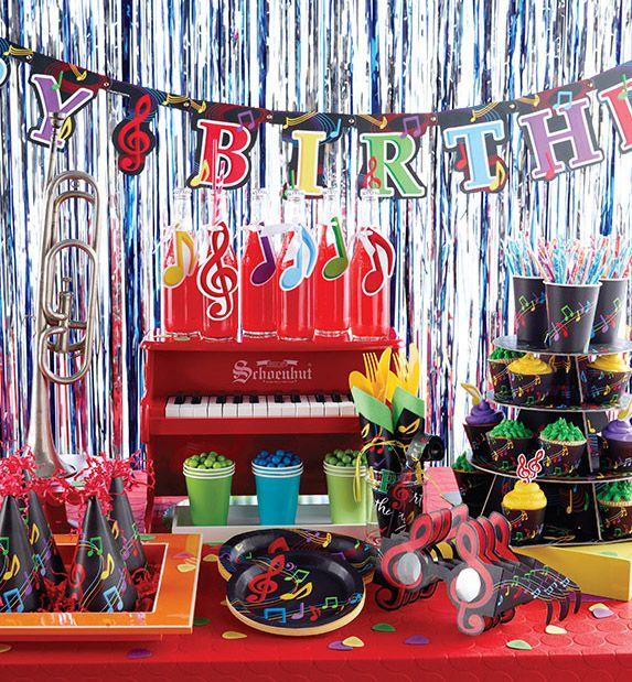 Disco+party+decorations+kids